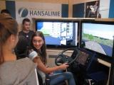 Das Logistik-Infomobil der Hansalinie