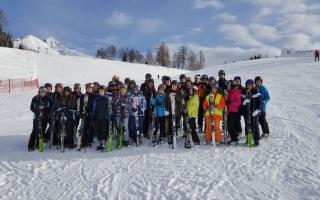 Fahrt nach Seefeld in die Alpen