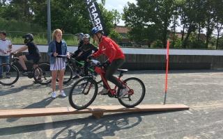 """3.Platz der OBS Emstek bei der niedersächsischen Schulmeisterschaft """"Mountainbike"""""""