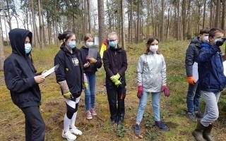 Engagement für die Umwelt...